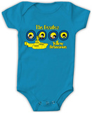 Infant: The Beatles- Yellow Submarine Onesie Body para bebê
