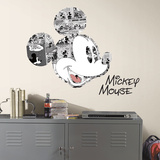 Mickey Mouse Comic Peel And Stick Wall Graphic Autocollant mural