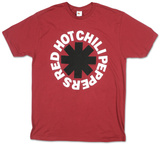 Red Hot Chili Peppers- Black Asterisk Tシャツ