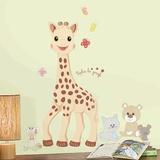 Sophie La Giraffe Peel And Stick Giant Wall Decals Wall Decal
