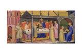 Herod's Banquet Giclée-tryk af Lorenzo Monaco