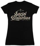 Women's: Social Distortion- Rock N Roll Kleding