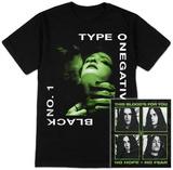 Type O Negative- Black 1 (Front/Back) T-skjorte