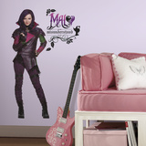 Disney Descendants Mal Peel And Stick Giant Wall Decals Decalcomania da muro