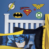 DC Superhero Logos Peel And Stick Wall Decals Wall Decal