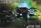 Star Trek - Ships Of The Galaxy 1500 Piece Puzzle Jigsaw Puzzle