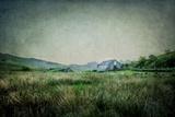 English Landscape with Old Barn Fotografisk trykk av Mark Gemmell