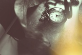 Pocket Watch Photographic Print by Carolina Hernandez