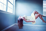 Female Floating in Room Photographic Print by Maren Kathleen Slay