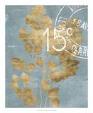 Postage Leaves I Posters af Jennifer Goldberger