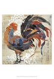 Rooster Flair V Plakater af Evelia Designs