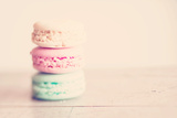Macaron Biscuits Photographic Print by Laura Evans