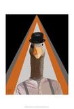 Clockwork Orange Goose Prints by  Fab Funky