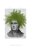 Asparagus Fern Head Plant Head Posters by  Fab Funky