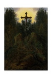 Cross in the Mountains, 1815-20 Giclee Print by Caspar David Friedrich