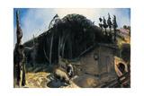 Three Pigs and a Mountain, C.1922 Reproduction procédé giclée par George Wesley Bellows