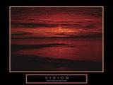 Vision Bedruckte aufgespannte Leinwand
