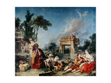 Fountain of Love, 1748 Giclee Print by Francois Boucher