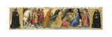 The Adoration of the Magi and Two Saints, C.1404 Giclée-tryk af Taddeo di Bartolo