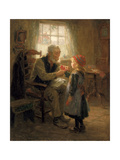 Mittens, 1907 Giclee Print by Ralph Hedley
