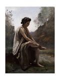 The Wounded Eurydice, C.1868-70 Reproduction procédé giclée par Jean-Baptiste-Camille Corot