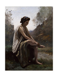 The Wounded Eurydice, C.1868-70 Giclee Print by Jean-Baptiste-Camille Corot