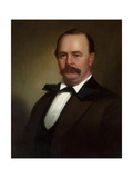 Portrait of Colonel James Hervey Birch, Jr., C.1878 Gicléedruk van George Caleb Bingham