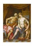 Hephaestus and Aphrodite Giclée-Druck von Hendrik van the Elder Balen