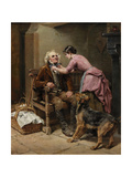Preparing for Market, 1888 Giclee Print by Ralph Hedley
