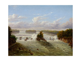 The Falls of St. Anthony, 1848 Giclee Print by Seth Eastman