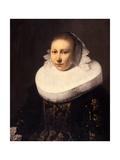 Portrait of a Young Woman, before 1644 Lámina giclée por Jacob Gerritsz Cuyp