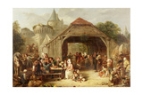 Merrymaking, 1841 Giclee Print by Frederick Goodall