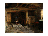 The Old Kitchen, 1893 Giclee Print by Ralph Hedley