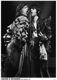 Jagger And Richards- Koln, Germany 1976 Posters
