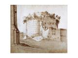 A Mausoleum Giclée-Druck von Sebastian Vrancx