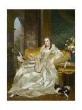 The Comtesse D'Egmont Pignatelli in Spanish Costume, 1763 Giclee Print by Alexander Roslin