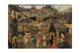 The Adoration of the Magi, C.1480 Giclée-tryk af Cosimo Rosselli