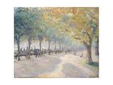 Hyde Park, London, 1890 Stampa giclée di Camille Pissarro