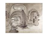 Tivoli, Cryptoporticus under the Temple of Hercules Victor Giclée-Druck von Sebastian Vrancx