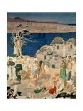 The Holy Well, 1916 Gicléetryck av Sir William Orpen
