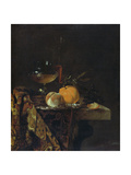 Still Life with Glass and Fruits Giclee Print by Willem Kalf