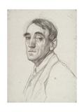 Self Portrait, 1916 Gicléetryck av Theo van Rysselberghe