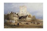 Jedburgh Abbey, C.1835 Giclee Print by Thomas Miles Richardson