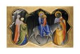 The Flight into Egypt, C.1405 Giclée-tryk af Lorenzo Monaco