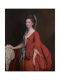 Portrait of Dorothy Beridge, Nèe Gladwin (D.1792) 1777 Giclee Print by Joseph Wright of Derby
