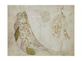 Recto: Studies of Costume Giclée-tryk af Antonio Pisanello