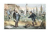 The Appomattox of the Third Termers - Unconditional Surrender, 1880 Giclee Print by Joseph Keppler