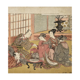Banquet in a Wealthy Household, 1770-74 Giclee Print by Isoda Koryusai