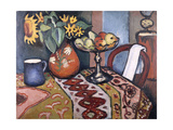 Still Life with Sunflowers II, 1911 Giclee Print by August Macke