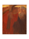 Meeting of Pious Women, Stations of Cross, 1901 Giclee Print by Gaetano Previati